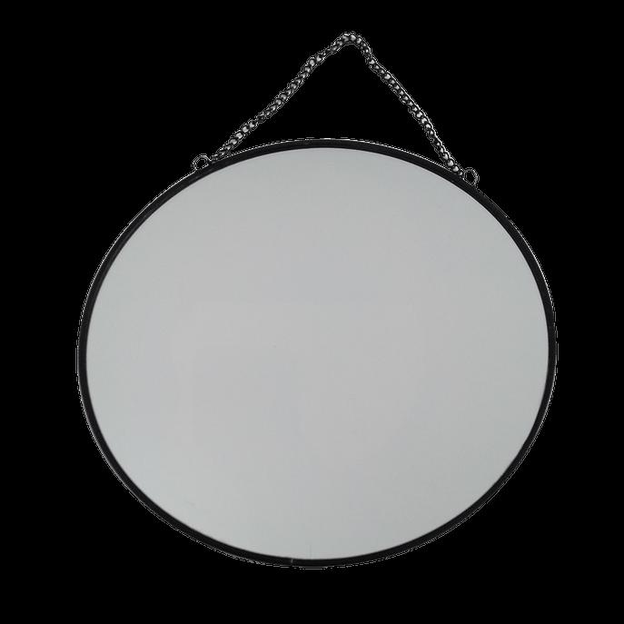 Espelho 20 Cm - Círculo Preto