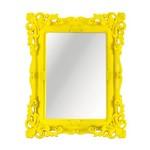Espelho de Mesa Amarelo