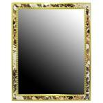 Espelho Retangular 24 5x20cm com Moldura Decorada