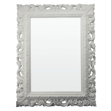 Espelho Rocco - Branco - 51x66x4cm