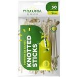 Espeto Bambu Stick 9cm Natural Caixa 50 Unidades
