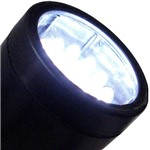 Espeto com Led's Branco Key West Preto