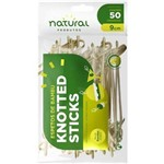 Espeto de Bambu Knotted Stick 9cm 50un Natural