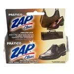 Esponja Zap Clean Brilho Prático para Artigos em Couro 1 Unidade