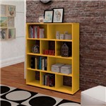 Estante Book Artely Amarelo