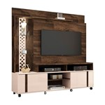 "Estante Home para TVs Até 55"" Vitral - Deck / Off White"