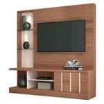 Estante Home Theater Eleve Nature/off White Hb Móveis
