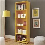 Estante para Livros 5 Prateleira Multy Artely Amarelo