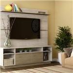 Estante para TV Até 65 Polegadas 2 Portas Linha de Salas Contemporâneo Decibal Malbec/Wood
