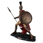 Estatueta Rei Leônidas de Esparta.