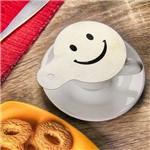 Estêncil para Decorar Café/cappuccino Inox Escovado - Smile