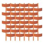 Estêncil para Pintura Duplo 14x14 Cestaria Pequena - Opa1746 - Opa