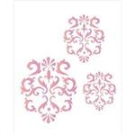 Estêncil para Pintura Simples 20x25 Arabesco Jarro - Opa1762 - Opa
