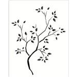 Estêncil para Pintura Simples 20x25 Arvore Seca OPA1235 - Opa