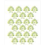 Estêncil para Pintura Simples 20x25 Estamparia Tropical - Opa1773 - Opa