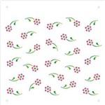 Estêncil para Pintura Simples 14x14 Micro Florzinhas Opa1173 - Opa