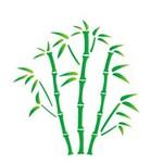 Estêncil para Pintura Simples 15x20 Bambu OPA744 - Opa