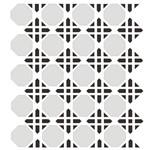 Estêncil para Pintura Simples 15x20 Estamparia Geométrica - Opa1064 - Opa