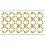 Estêncil para Pintura Simples 7x15 Anéis Opa1944 - Opa