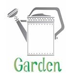 Estêncil Wall para Pintura Simples 20X25 Regador Garden OPA1832 - Opa
