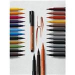 Estojo Canetas Pitt Artist Pen Faber Castell - 12 Tons de Outono Ponta Pincel B - Ref:267422