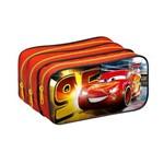 Estojo Carros Vermelho 3 Divisorias - 42.5653-0