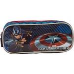 Estojo Duplo Capitão América Shield - Xeryus