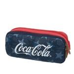 Estojo Duplo Coca-cola American Flag