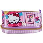 Estojo Duplo Hello Kitty Washi Pink - 7885 - Artigo Escolar - Único
