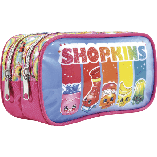 Estojo Duplo Shopkins Rainbow Party 6815