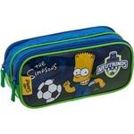 Estojo Duplo Simpsons Bart FC - PCF