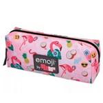Estojo Emoji Pack me Flamingo Rosa - Pacific