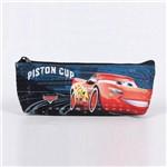 Estojo Escolar Dermiwil Carros Piston Cup Champion Azul - 51811