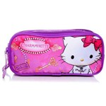 Estojo Escolar Duplo Gata Charmmy Kitty Lights Sanrio - Pacific