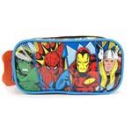 Estojo Escolar Duplo Marvel Comics Vingadores Xeryus 7075