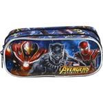 Estojo Escolar Duplo Xeryus Avengers Armored - 7495