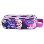 Estojo Escolar Frozen Elsa Dermiwil 37103