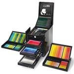 Estojo Faber-Castell Edição Limitada Karlbox com 350 Instrumentos Artísticos