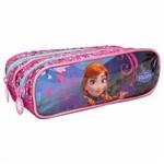 Estojo Frozen Anna - 2 Divisórias