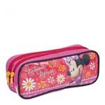 Estojo Infantil Minnie Disney - 2 Compartimentos - Sestini