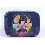 Estojo Luxo Azul Princesas Disney Dermiwil