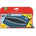 Estojo Monstro Ziper Faber Castell - Sortidos