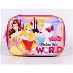 Estojo Pink Luxo Princesas Disney Dermiwil