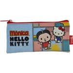 Estojo Pvc Flat Hello Kitty - Monica Bff - 7915 - Artigo Escolar - Único