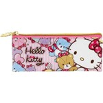 Estojo Pvc Flat Hello Kitty Tiny Bears - 7865 - Artigo Escolar - Único