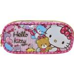 Estojo Pvc Hello Kitty Tiny Bears 1 Zíper