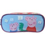 Estojo PVC Peppa Pig Hora da Brincadeira Xeryus Unidade