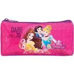 Estojo PVC Princesas Basic Grande 1 Ziper Spirit Bags