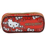 Estojo Simples Hello Kitty Bow Bow - 7856 - Artigo Escolar