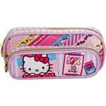 Estojo Simples Hello Kitty Washi Pink - 7886 - Artigo Escolar - Único